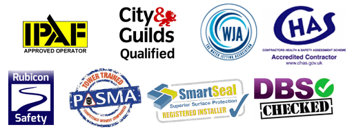 Accreditation and trust logos